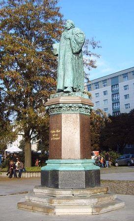 Bild Lutherdenkmal Magdeburg