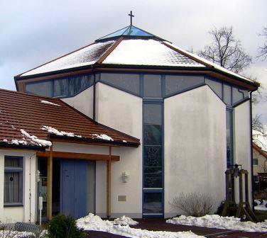 Bild Kirche Maria Königin des Friedens Halle Saale