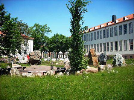Bild Geologischer Garten Halle Saale