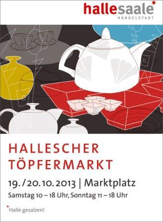 Bild Töpfermarkt Halle Saale