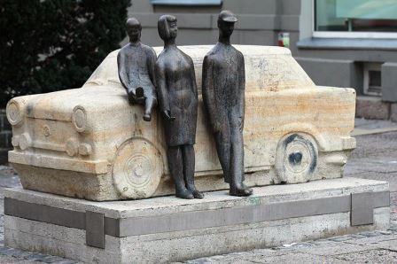 Bild Trabant Denkmal Zwickau