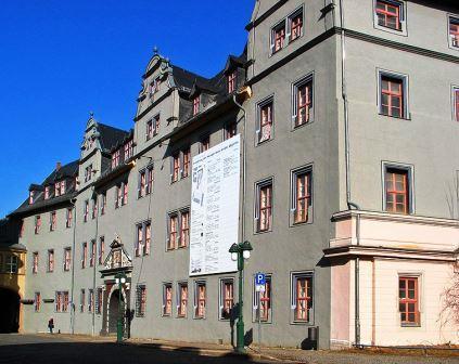 Bild Rotes Schloss Weimar