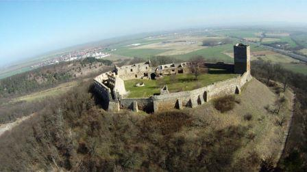Bild Burg Gleichen Wandersleben
