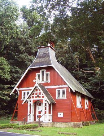 Bild Holzkapelle Ralswiek