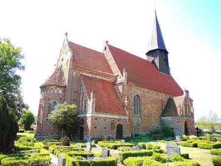 Bild St. Johanneskirche Schaprode