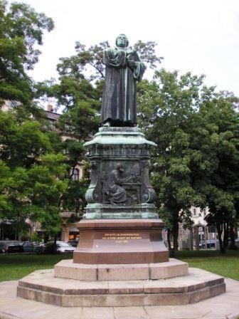 Bild Luther Denkmal Eisenach