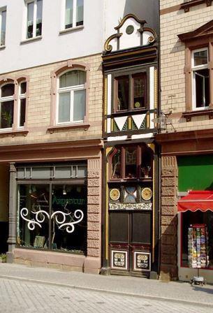 Bild Das schmale Haus Eisenach
