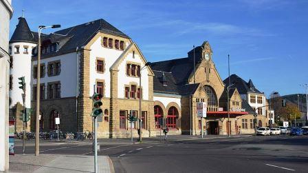 Bild Hauptbahnhof Eisenach