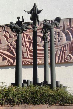 Bild Telemann Denkmal Magdeburg