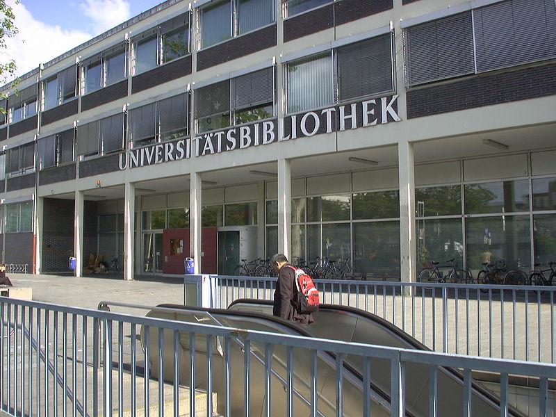 Bild Uni Bibliothek Frankfurt am Main