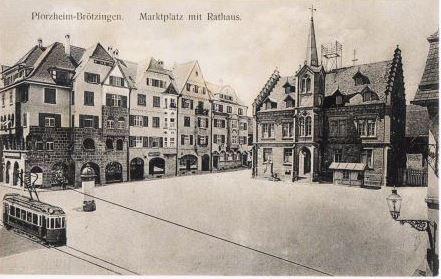 Bild Altes Rathaus Pforzheim Brötzingen