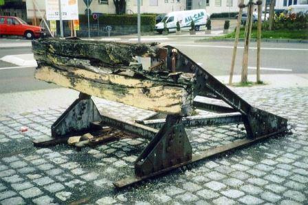 Bild Gedenkstätte Hauptgüterbahnhof Pforzheim