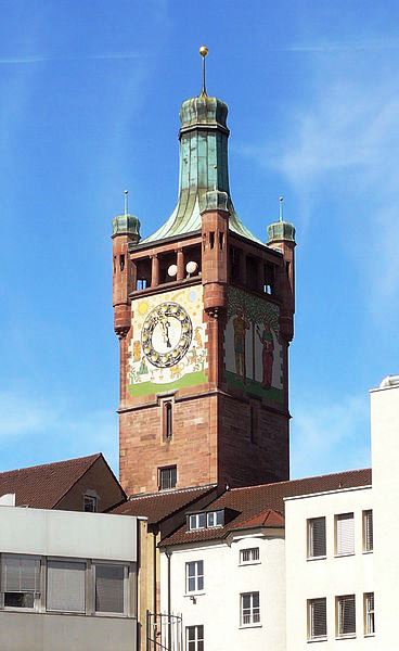 Bild Bezirksamtsturm Pforzheim