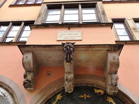Bild Geburtshaus Hans Arp Strasbourg