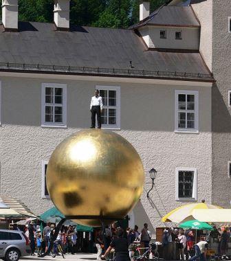 Bild Kunstprojekt Sphaera Salzburg