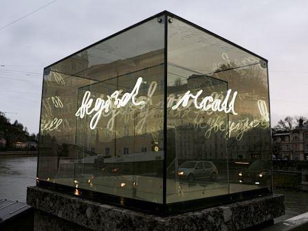 Bild Kunstprojekt Beyond Recall Salzburg