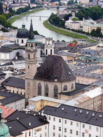 Bild Franziskanerkirche Salzburg