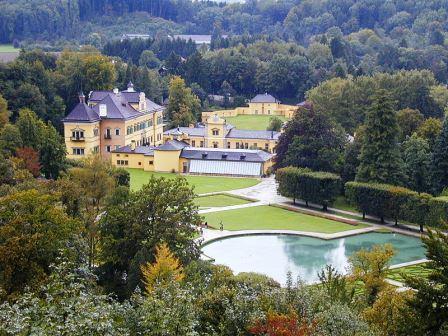 Bild Schloss Hellbrunn Salzburg