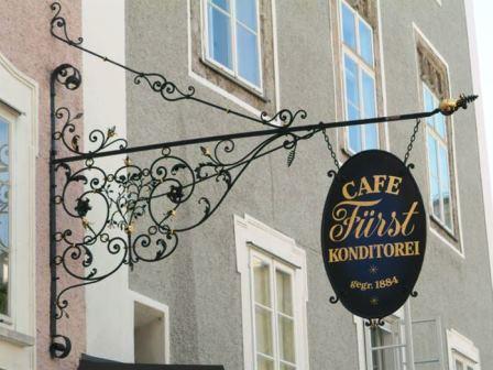 Bild Café Konditorei Fürst Salzburg