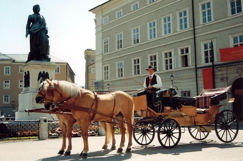 Bild Fiaker Fahrt Salzburg
