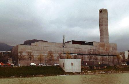 Bild Heizkraftwerk Salzburg Mitte