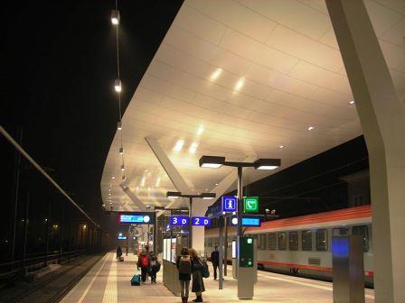 Bild Hauptbahnhof Salzburg