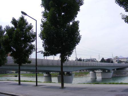 Bild Eisenbahnbrücke Salzburg