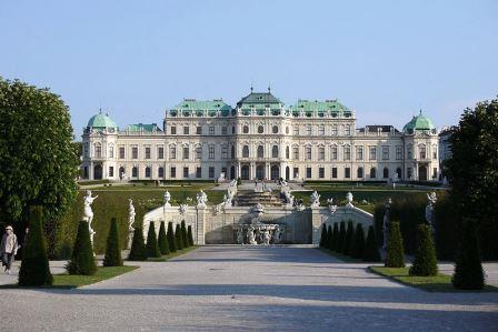 Bild Schloss Belvedere Wien