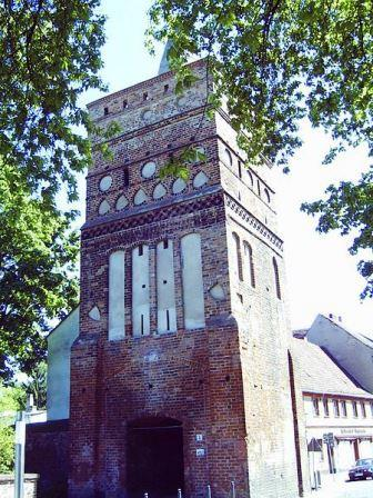 Bild Rathenower Torturm Brandenburg Havel