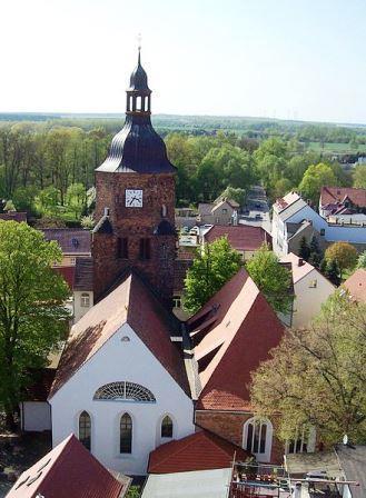 Bild Wendisch Deutsche Doppelkirche Vetschau