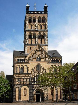 Bild St. Qurinus Münster Neuss