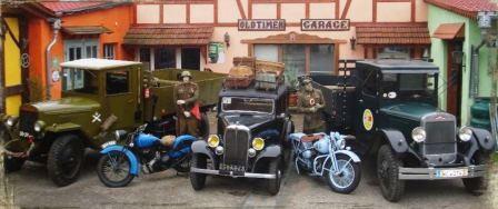 Bild Oldtimer Garage Weimar