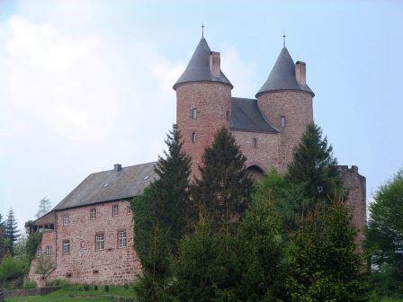 Bild Bertradaburg Mürlenbach