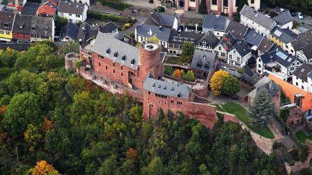 Bild Burg Hengebach Heimbach