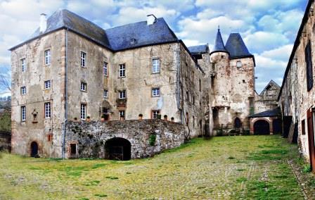 Bild Burg Lissingen Gerolstein