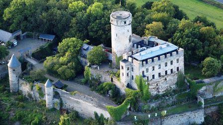 Bild Burg Pyrmont Roes
