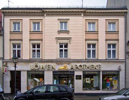 Bild Theodor Fontanes Geburtshaus Neuruppin