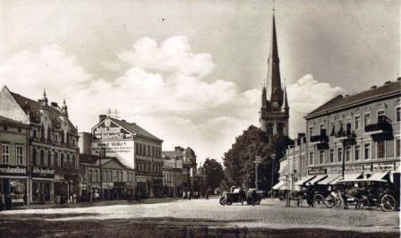 Bild Fontane Wohnhaus Swinemünde (Swinoujscie)