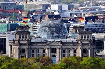 Bild Reichstagsgebäude Deutscher Bundestag Berlin