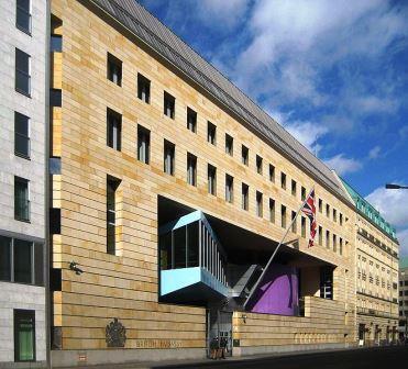 Bild Britische Botschaft Berlin