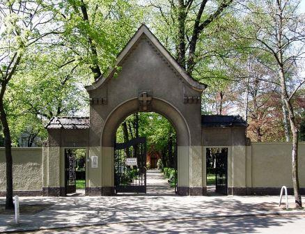 Bild Friedhof Berlin Friedenau