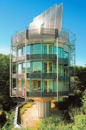 Bild Heliotrop Turmsolarhaus Freiburg