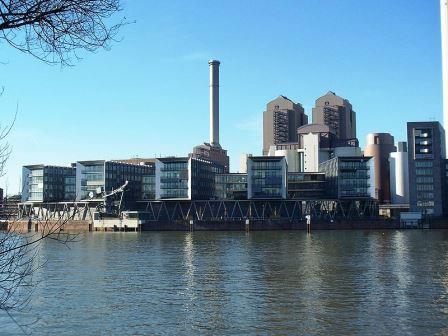 Bild Westhafen Pier Frankfurt/Main