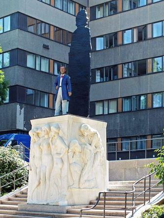Bild Richard Wagner Denkmal Leipzig