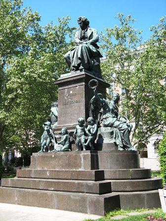 Bild Beethoven Denkmal Wien