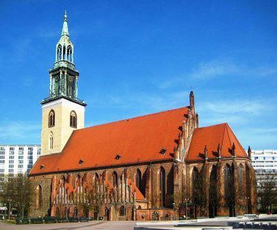 Bild Kirche St. Marien Berlin Alexanderplatz