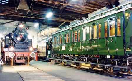 Bild Eisenbahnmuseum Lokschuppen Aumühle