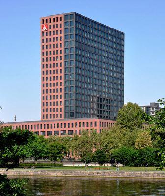 Bild Hochhaus IG Metall Mainforum Frankfurt