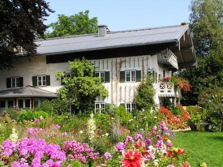 Bild Künstlerhaus Exter mit Garten