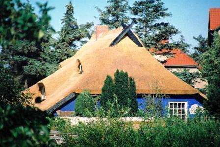 Bild Blaue Scheune Hiddensee